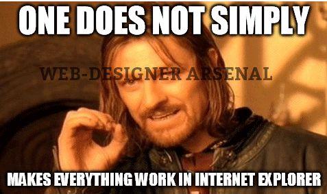 One simply cannot #webdesignerarsenal #webdesignertrolls