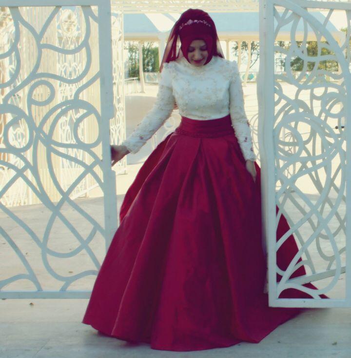 Hijab bride - tesettür gelinlik - tesettür nişanlık - irmtmz wedding