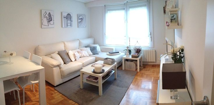 El blanco triunfa. Vender un piso en San Sebastián. Consejo Monpas...home. Cristina de Inmobiliaria Monpas.