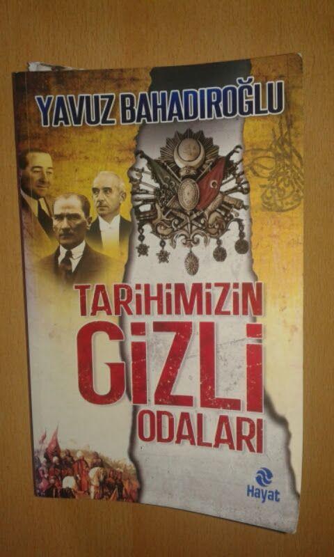 Tarihimizin Gizli Odaları kitabı yorumum... http://yasamdanyazilar.blogspot.com.tr/2016/06/tarihimizin-gizli-odalar-kitab-yorumum.html?m=1