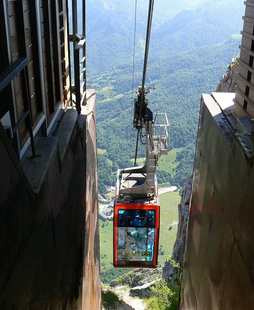 Incredible Gondola Ride | Cantabria, Spain