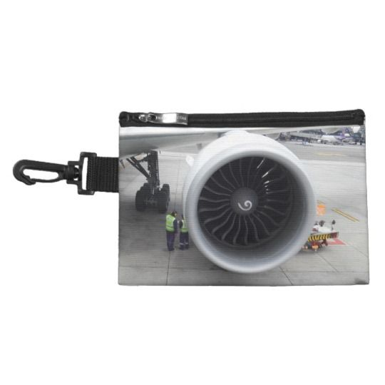 "#zazzle #girl  #woman #gift  #giftidea  #Bag #Jet  #Engine #""Clip On""  #Accessory"