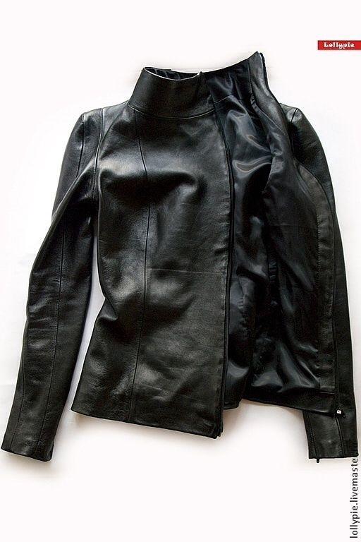 ec23a26a26a474a Верхняя одежда ручной работы. Кожаная куртка Коженка. Модистка Кэт -  Lollypie. Интернет-магазин Ярмарка Мастеров. Натуральная кожа