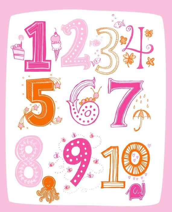 ✿ Numbers.