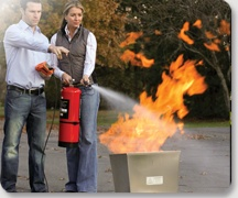 BullEx I.T.S. Xtreme - we enjoy using our BullEx fire extinguisher training aid.