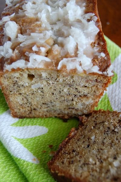 ... – And the winner is…..Coconut Banana Bread with key Lime Glaze