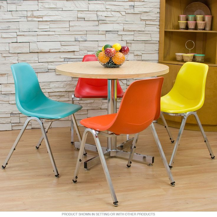 Colorful Kitchen Chairs: 22 Best Images About My Kitchen- Retro, Vintage Aqua & Red