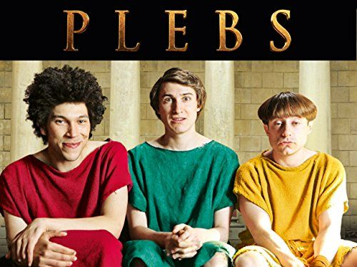 With Tom Rosenthal, Joel Fry, Ryan Sampson, Sophie Colquhoun. PLEBS follows three desperate young men from the suburbs as they try to get laid, hold down jobs and climb the social ladder in the big city - a city that happens to be Ancient Rome.