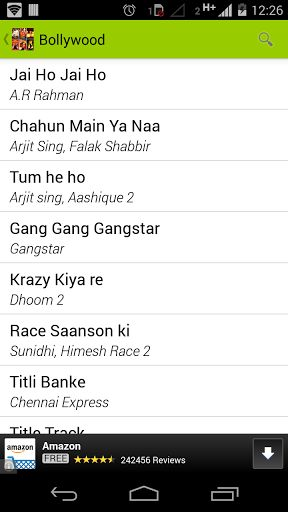 Indian Bollywood music industry is the biggest in the world. Free Hindi ringtone is collection of Bollywood song's ringtone, SMS ringtone, English chart buster. Its provide you all latest ringtone free of cost.<p><b>1. Bollywood -</b> Bollywood section contains ringtone with moderate age. Not much old and not latest comes under this category. Find here all ringtone of 80s  and 90s.<br><b>2. English - </b> This section is dedicated to Indian who loves English song. English section is ringtone…