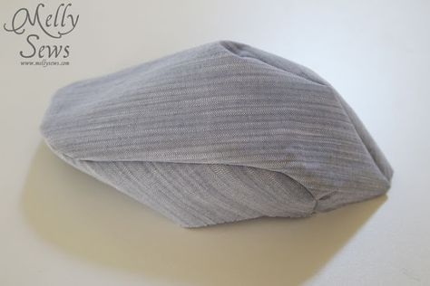 Gatsby Hat with Free Pattern - Melly Sews