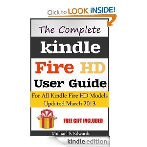 kindle fire hd user manual