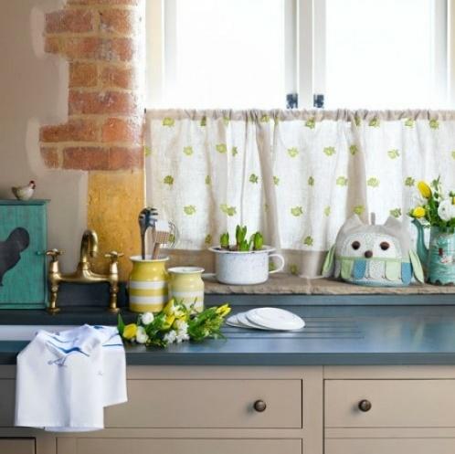 Vintage kitchen curtain amazing kitchens pinterest