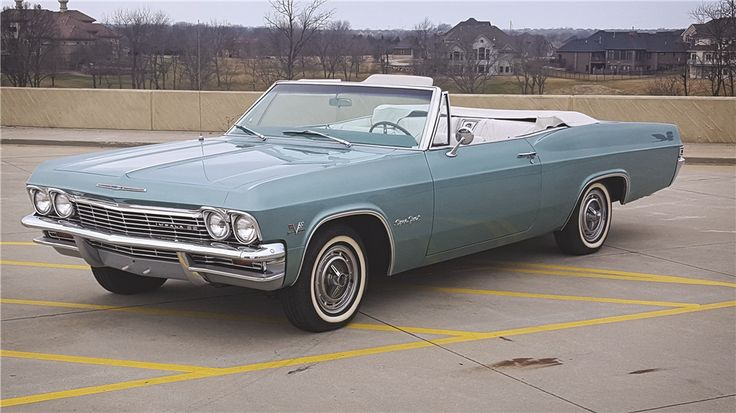 sold at palm beach 2016 lot 85 1965 chevrolet impala ss convertible classic cars. Black Bedroom Furniture Sets. Home Design Ideas