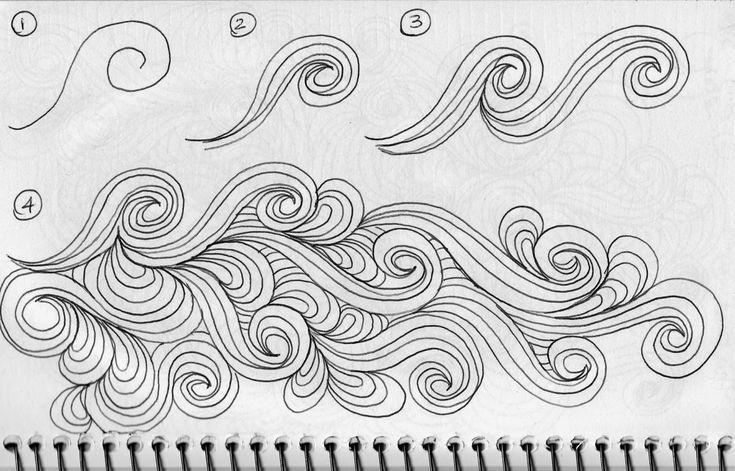 LuAnn Kessi: Sketch Book......Swirl Designs