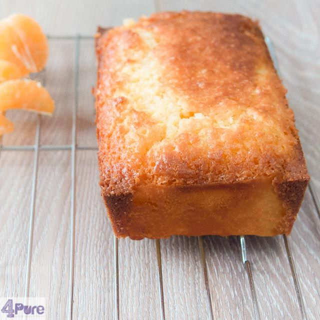 Tangerine pound cake - English recipe - This recipe for tangerine pound cake is sweet and fresh at the same time. Of course the tastiest in the winter, when the mandarins are juiciest.