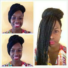 MISS VAVAVUM: Top 'vavavum' box braid styles