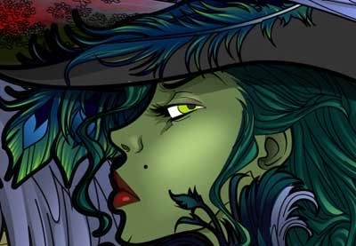 Preview for Create the Wicked Witch of the West in Adobe Illustrator