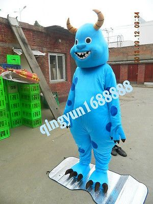 New Offer!SULLY MONSTER INC SULLY Mascot Costume Fancy dress WORLDWIDE FREE SHIP