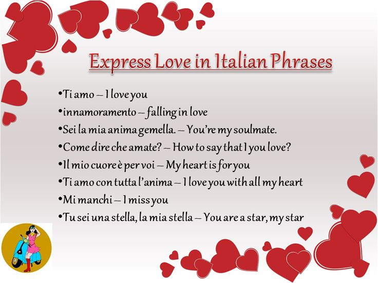 Italian is a romance language it is just amazing and lyrical which make you fall in love with the Italian magical words. It is full of melody , beautiful and sounds sweet. So learn Italian online today and express your love to someone in the musical language & convey your feelings to your special one.