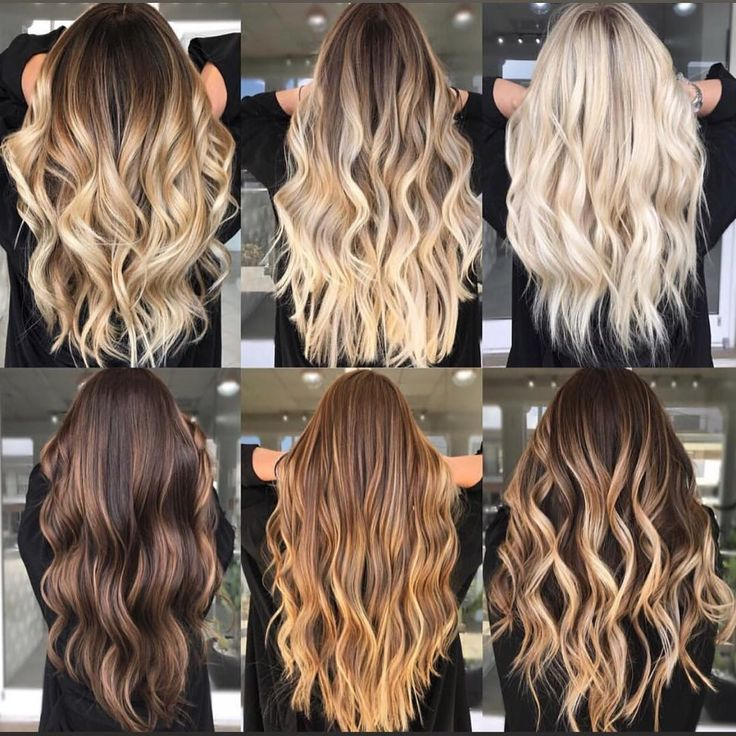 20 Balayage Brown to Blonde Long Hairstyles