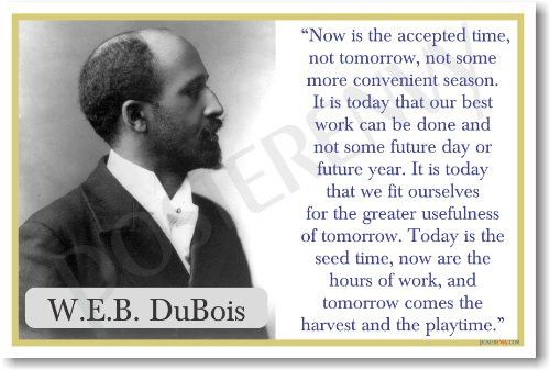 WEB Dubois - NEW Famous Person Classroom POSTER