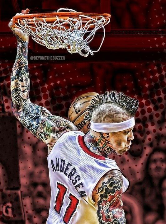 Chris Andersen (Bird Man) 2013 PLAYOFFS   GORGEOUS!!!!!!!!!!!!!!!!!