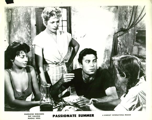 Raf Vallone in The Possessed with Magali Noel, Madeleine Robinson
