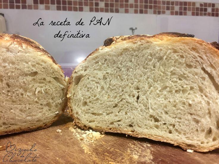 receta de pan sin amasar