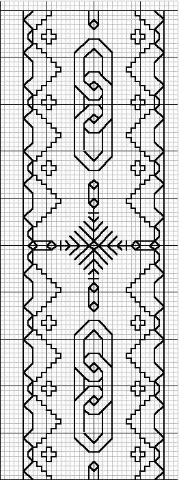 Blackwork - Boarder