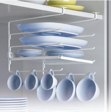 M s de 1000 ideas sobre armario colgante en pinterest armario de almacenamiento de calzado - Organizador armarios cocina ...