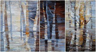 "tapestry ""Spring"" 2009 Natalia Rozhkova #weaving #tapestry #гобелен #ткачество"
