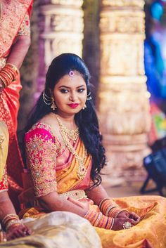 Remember the telugu sisters Tejaswi and Ujjwalawho made us emotional? Their video that portrayed their infinite love for each other garnered a lot of attention in our site and became viral. This time, they are here to share the wedding story.    Tejaswi and Prithvi met in college many years ago, as college students. They got married in December 2016. Both of them work as engineers in USA but somehow managed to pull of an efficiently planned grand wedding ceremony...