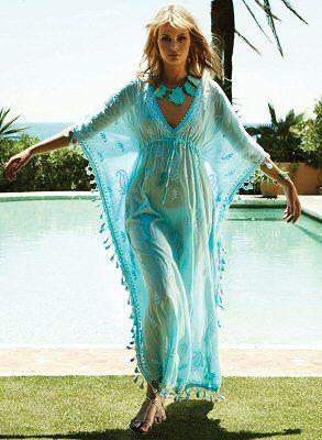 I need this kaftan (Melissa Odabash Swimsuits)