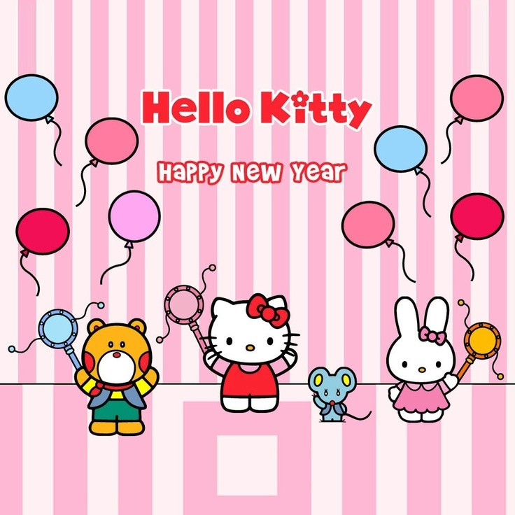 Sanrio Hello Kitty Happy New Year!