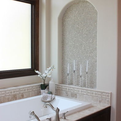 Tile with simple accessories