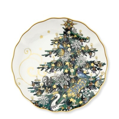 Christmas Tree Salad Plates Set Of 4 Williamssonoma
