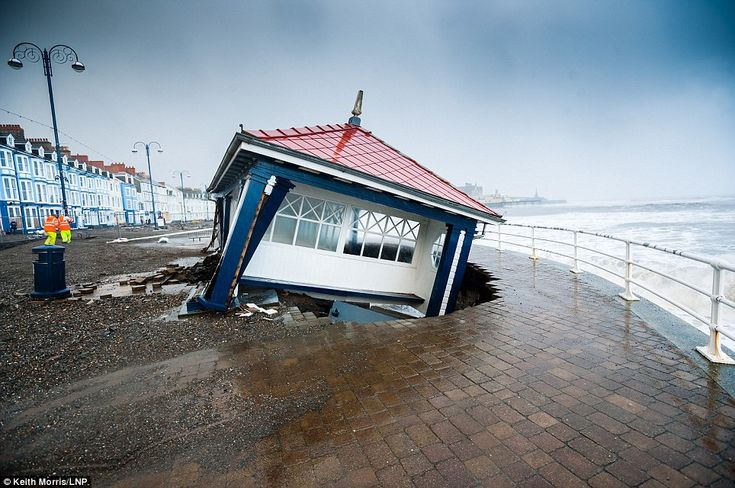 50ft waves hit coast and 1.6in rain will fall on already sodden ground