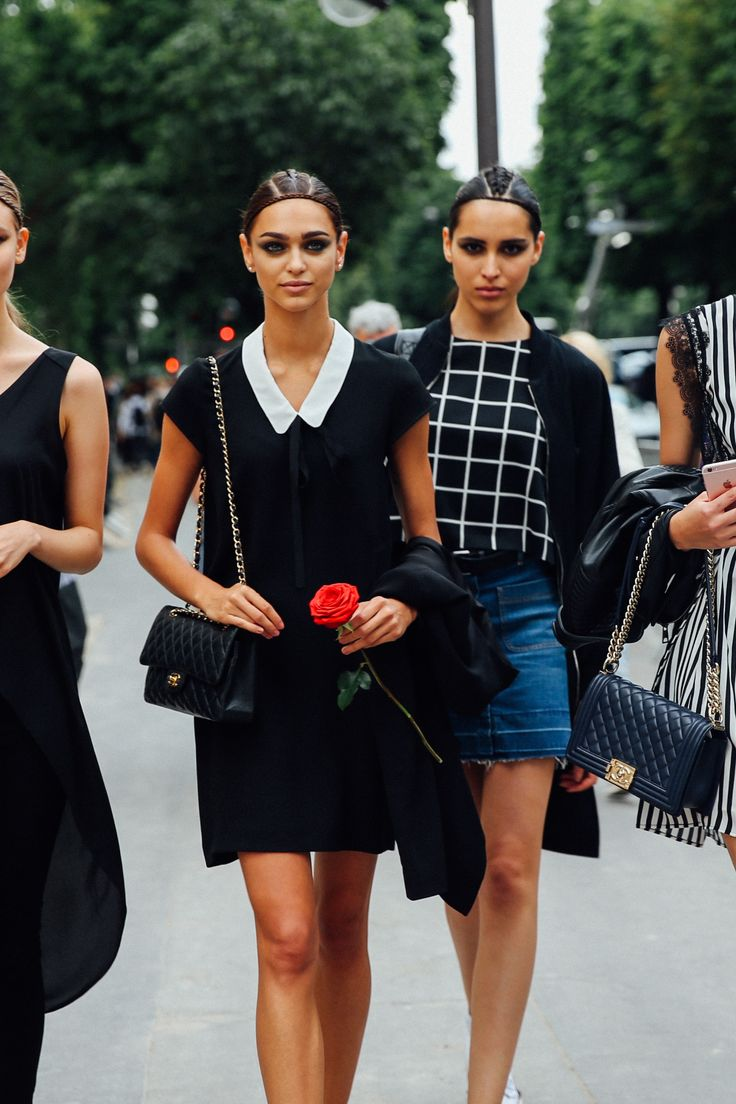 Haute Couture Week 2016: Street Style | Teen Vogue This is model-off-duty style with a decidedly glamorous twist. Fresh from the Ralph & Russo show, these leggy beauties hit the street in shirt dresses, high-low tops and grid print blouses. Pier Guido Grassano