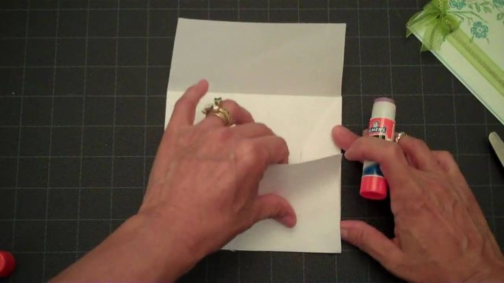 HOW TO MAKE AN ENVELOPE for any size homemade card.