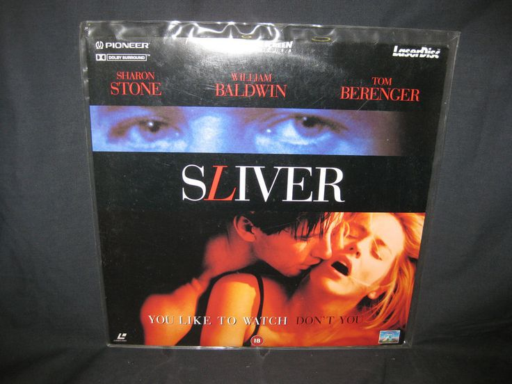 SLIVER WIDESCREEN PAL LASERDISC SHARON STONE WILLIAM BALDWIN in DVDs, Films & TV, LaserDiscs | eBay
