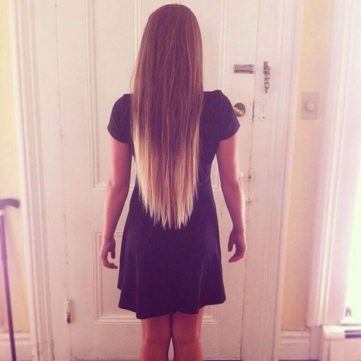 long v-cut   Hairstyles for Long Hair   Pinterest   Hair