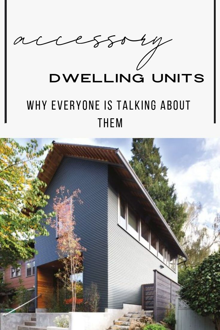 Why Everyone Is Talking About Accessory Dwelling Units Adu Modern Floor Plans The Unit Modern House Design