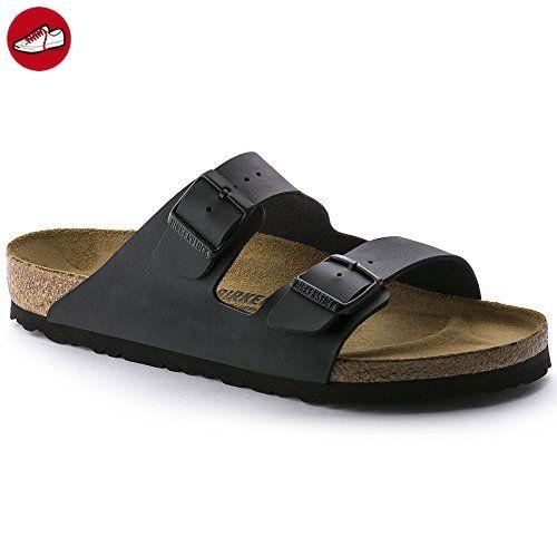 Birkenstock Arizona Herren Schwarz Schmal Folien Sandalen Schuhe Neu EU 42 - Birkenstock schuhe (*Partner-Link)