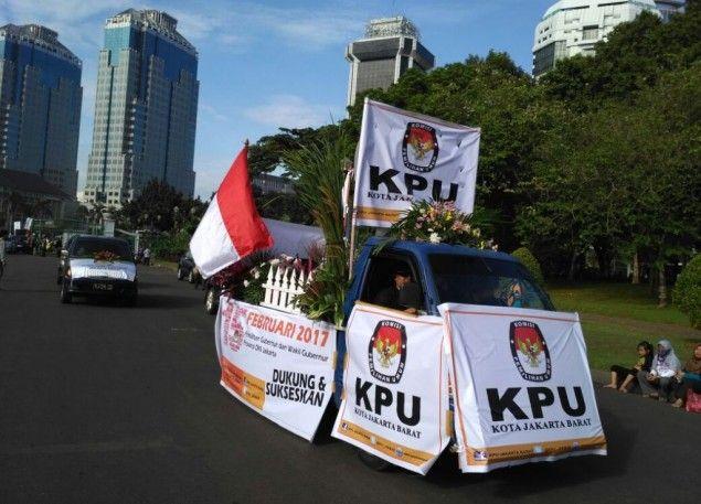 Sogok Penyelenggara Pemilu Diskualifikasi Menunggu