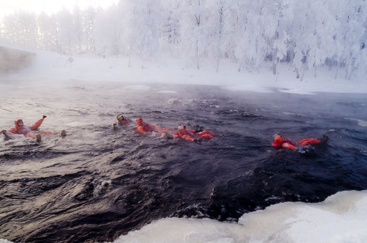 Rapids Floating in Kainuu, Extreme! Fun! Exiting!