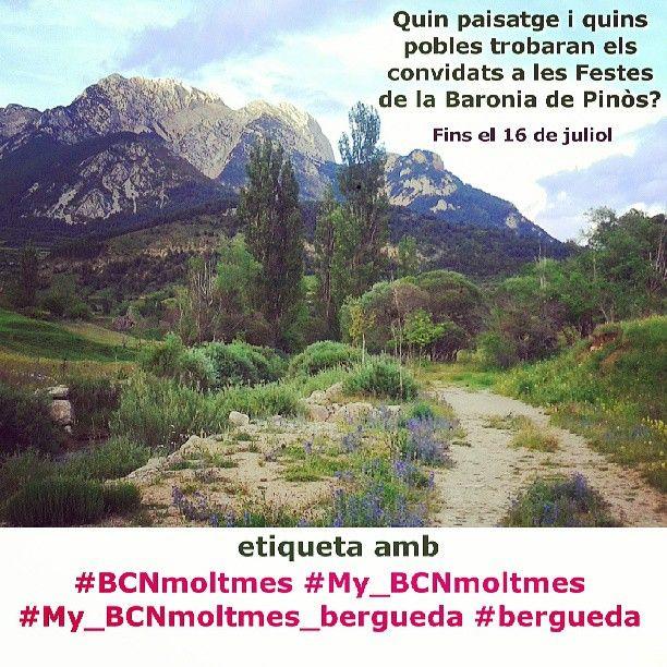 Igers del Berguedà, igers turistes i caminants! Descobriu-nos els paisatges, els pobles, els camins i els racons d'aquesta comarca des del proper dissabte 13 Les Festes de la Baronia de Pinós. Etiquetes: #My_BCNmoltmes #BCNmoltmes #My_BCNmoltmes_bergueda. Fins el proper dimarts 16 de juliol!