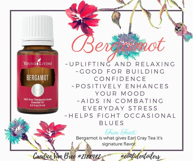 My personal favorite essential oil for all things emotional.  It smells like citrus meets floral, aka ah-mazing!!! Young Living Bergamot