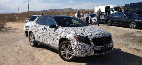 MB-USA CEO Steve Cannon veröffentlicht Bild vom Mercedes GLA und vom S-Klasse Coupé #mbgla