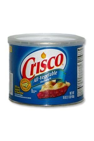 Pot de graisse Crisco de 450 grammes pour le fist extrême ou pour du sexe anal hard !