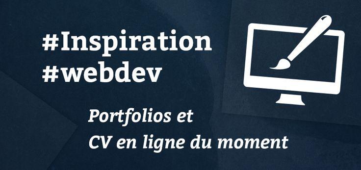 #Inspiration #webdev : Portfolios et CV en ligne du moment - Blog du MMI | http://blogdummi.fr/developpement/inspiration-web-portfolios-cv-en-ligne-du-moment/ #DUTMMI #webdesign